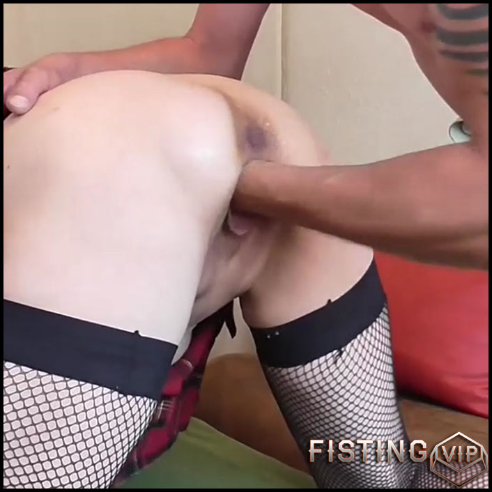 Old wife with large labia gets fisted hardcore in doggy pose - HD-720p, amateur fisting, huge dildo, pussy fisting (Release July 29, 2018)