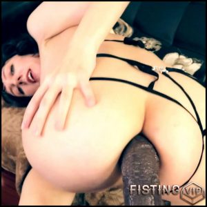 Webcam busty girl sweet anal creampie after BBC dildo rides – Full HD-1080p, BBC dildo, huge dildo (Release July 27, 2018)