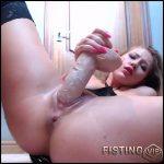 Belarusian pornstar Anastasiaxxx89 slutty behaviour – HD-720p, dildo porn, huge dildo (Release August 24, 2018)