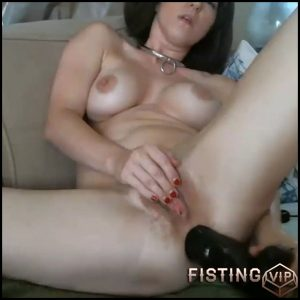 Busty camgirl Molly Hendricks big black dildo anal games – HD-720p, dildo anal, huge dildo (Release September 3, 2018)