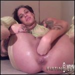 Extremistkinkster double dildo penetration in pussy and extreme fisting sex homemade – HD-720p, huge dildo, pussy fisting, solo fisting (Release August 14, 2018)