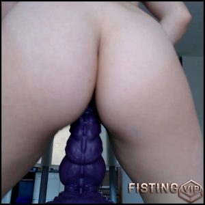 JustViolet big dragon cock rides young girl – Full HD-1080p, dragon dildo, huge dildo (Release August 12, 2018)