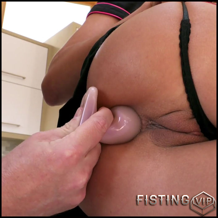 First Time Anal Dildo Ride