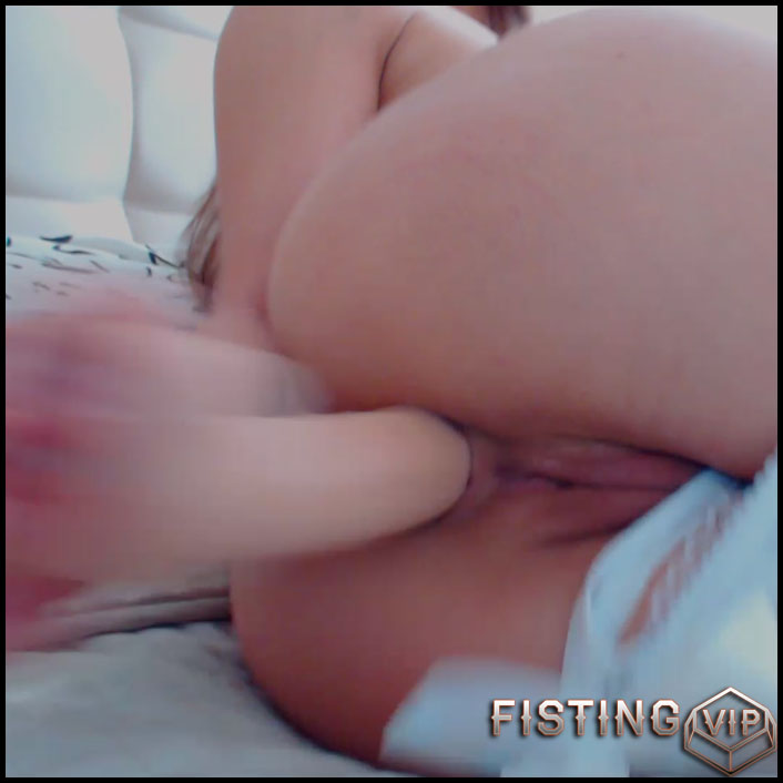Fantastic girl with big ass solo loose her anus gape - Full HD-1080p, dildo anal, webcam (Release September 13, 2018)