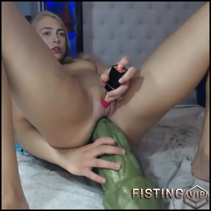 Siswet19 shocking hulk dildo deep in ass rosebutt - HD-720p, dildo anal, monster dildo (Release September 16, 2018)