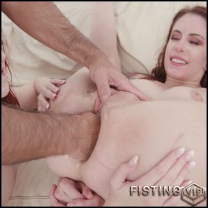 Anna De Ville and Alex Harper anal fisting and more gaping anal show – HD-720p, anal fisting, deep fisting (Release October 21, 2018)