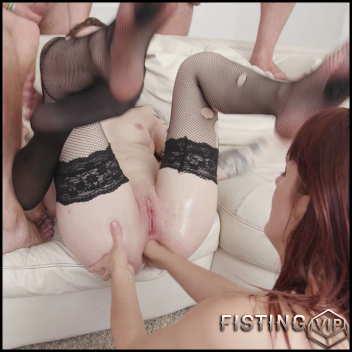 Dominica Phoenix, Monika Wild and Charlotte Cross anal prolapse and fisting - HD-720p, anal fisting, deep fisting (Release October 13, 2018)
