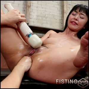 Marica Hase and Dana DeArmond lesbians anal fisting and strapon domination – HD-720p, anal fisting, lesbian fisting (Release October 26, 2018)