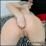 Miss Ellie anal fist, farts and prolapse porn – Full HD-1080p, solo fisting, webcam fisting (Release October 21, 2018)