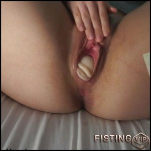 Rubber vagina with big egg in wifes pussy – Thank you Greg – Full HD-1080p, double dildo, huge dildo (Release October 16, 2018)
