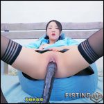 Chinese fisting queen ZhouXiaoling try huge dildo penetration – HD-720p, long dildo, pussy fisting (Release November 24, 2018)