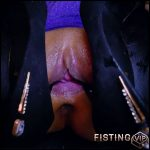 Chinese girl ZhouXiaoling stretched pussy with heels – HD-720p, pussy fisting, solo fisting (Release November 22, 2018)