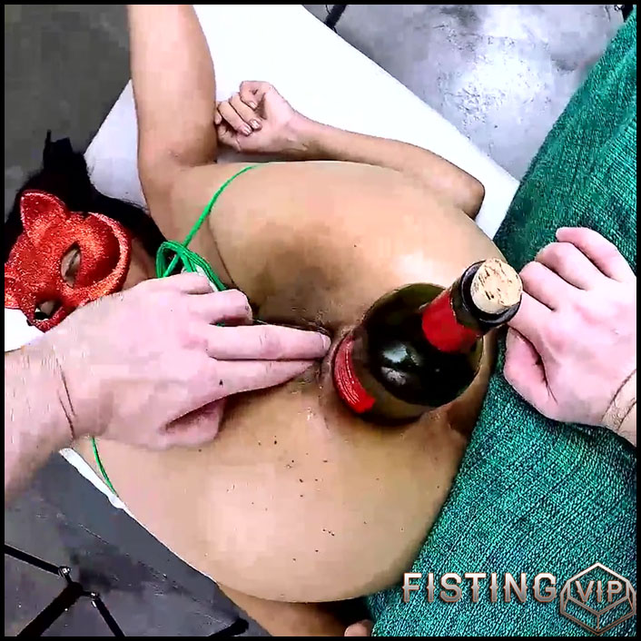 Anna Holloween Porn An Double Fisting And Bottle Sex To