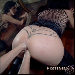 Big Ass MILF Gets Double Fisted In Doggy Style And Loose Prolapse Anus – Mature Fisting
