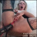 Big Tits Milf Double Dildos Games In The Toilet – Long Dildo