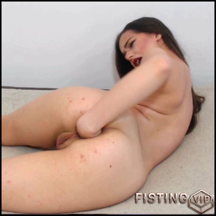Jessica Starling fisting and gaping my ass gaping webcam - Full HD-1080p, amateur fisting, solo fisting (Release December 10, 2018)