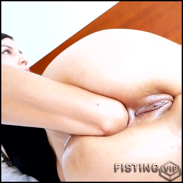 Self Fisting And Ruined Rosebutt With Long Dildos - Valentynex - Ball Anal
