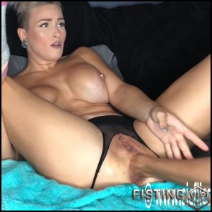 American Camgirl Huge Dildo And Fisting Anal Hardcore – LilySkye – Dildo Anal