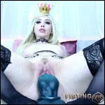 Bowsette Cum Battle With Bad Dragon Dildo – Lilcanadiangirl – Teen Creampie