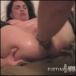 Busty Mature Gets Vaginal Fisted Homemade – Hottabbycat – Amateur Fisting