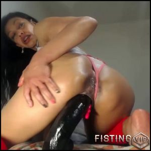 Dirty Booty Latin Brunette Vaginal Fisting And Dildo Porn Solo – Webcam Fisting