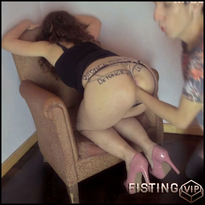 Enjoying Extreme Anal And Oral Sex - ArgenDana - Bottle Anal, Mature Fisting