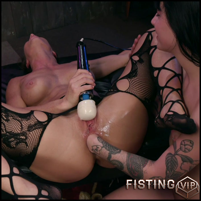 Lesbian Deep Ass Fisting