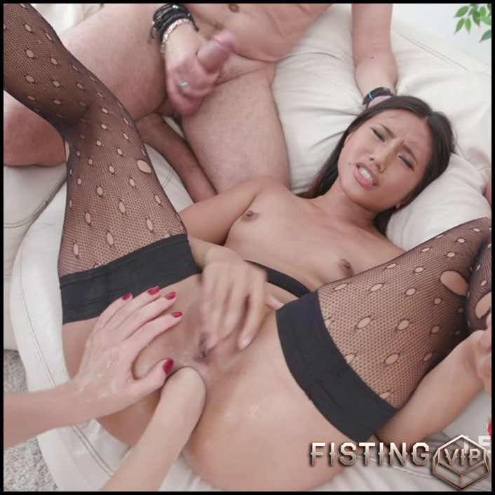 Fisting Rough Domination - Dominica Phoenix and May Thai - Gaping Anal