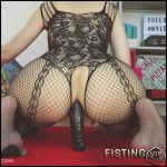 Double Ended Dildo All Up My Ass Webcam – Mylene – Long Dildo