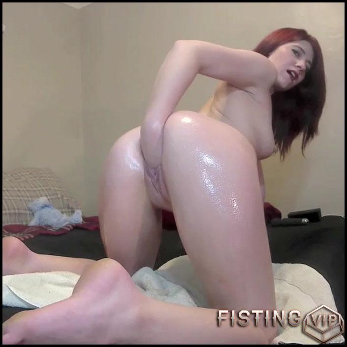 Hot Couple Amateur Fisting Sex Vaginal - Missmiseryxxx - Solo Fisting