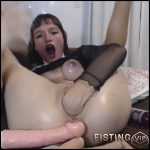 Make Pussy Soo Big For Kyle Homemade – Suicide – Triple Dildo, Pussy Fisting