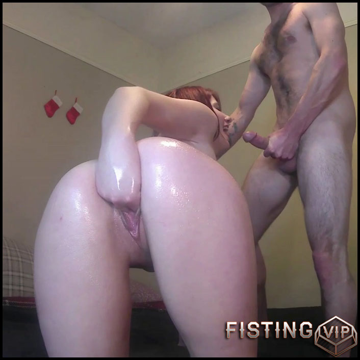 Stretch And Gape My Pussy And Ass Gape - MissMiseryXXX - Solo Fisting