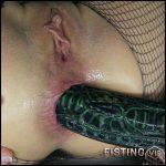 Alien Breeder, Ass Prolapse With HankeysToys Webcam – Mylene – Dildo Anal