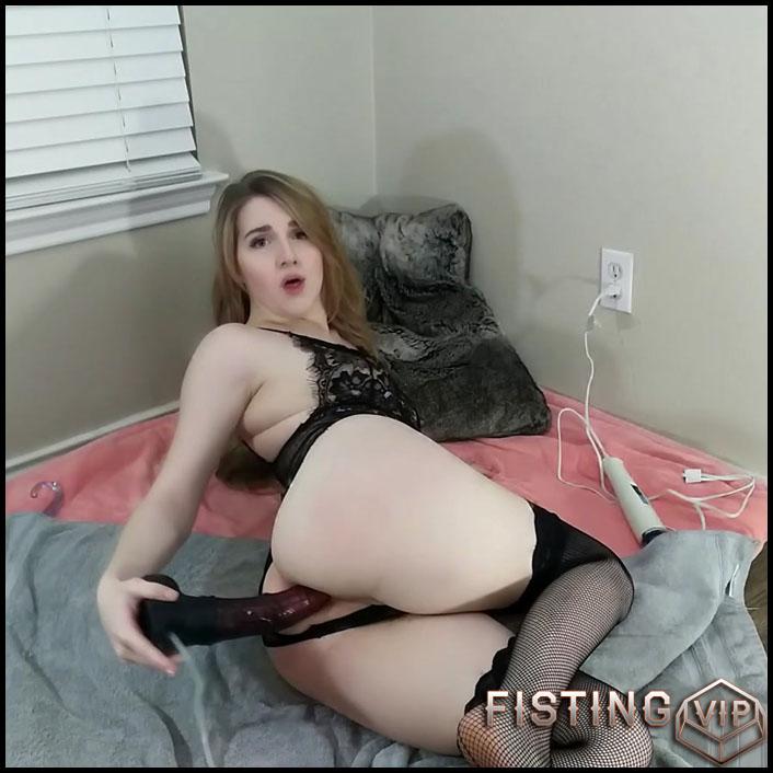 Anal Ass With My Bad Dragon - MissPrincessKay - Colossal Dildo, Long Dildo