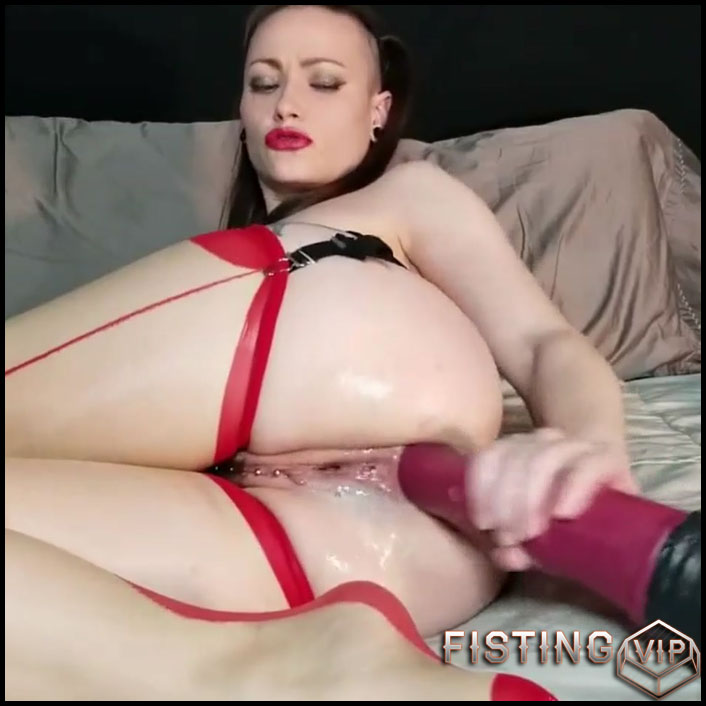 Anal Creampie With Chance Flared Dildo Solo Webcam - AdalynnX - Solo Fisting1