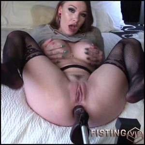 Big Tits Girl Rough BBC Anal Creampie – MySkylarRaye – Fucking Machine Videos