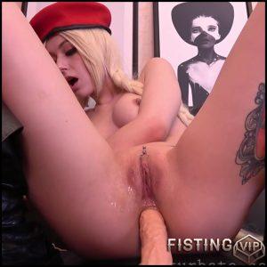 Cammy Wants Fuck Both Holes Vaginal And Anal – Purple_bitch – Fucking Machine
