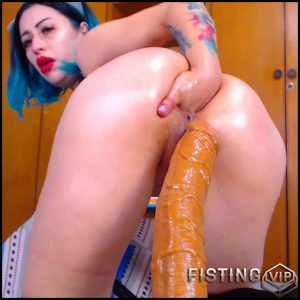 Fucking Machine Porn And Self Fisting – Karlakole – Teen Fisting, Anal Fisting