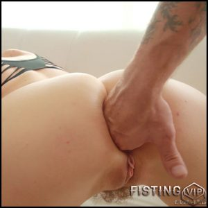 Gets Fisted And Rough Anal To Gaping – Natasha Starr – Anal Fisting, Gape Ass