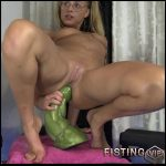Insertion Bad Dragon Hulk Dildo Fully In Gaping Hole – Siswet19 – Monster Dildo