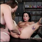 Lesbians Speculum And Dildo – Chanel Preston and Joanna Angel – Lesbians Fisting