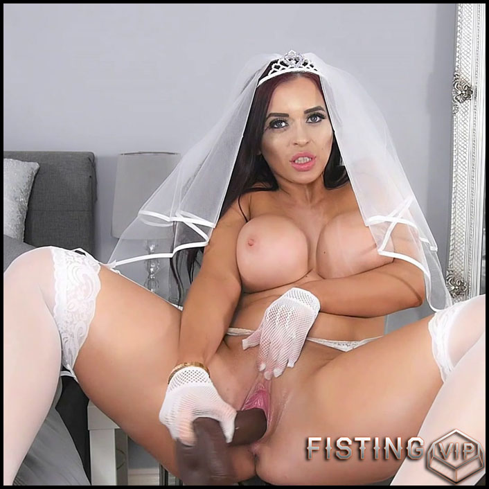 Royal Wedding Big Black Secret Dildo - KimberleyJx - Huge Dildo