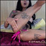 Skinny Tattooed Asian Brunette Ruined Anal Rosebutt Dildos – Asianqueen93 – Dildo Anal