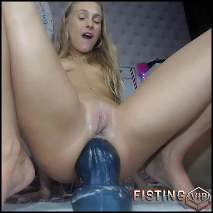 Anal Gape Show After Rough Monster Dildos - Siswet19 - Huge Dildo