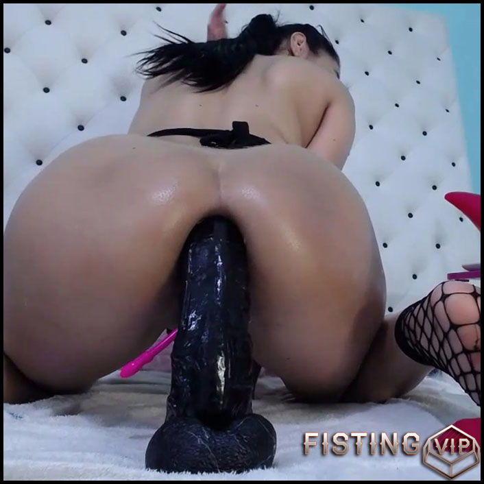 Anal Rosebutt And Gape Stretched After Bad Dragon Dildo Riding - Xxisabelaxxx - Ball Anal, Colossal Dildo