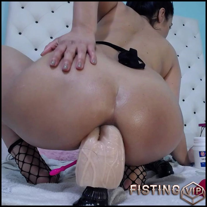 Anal Rosebutt And Gape Stretched After Bad Dragon Dildo Riding - Xxisabelaxxx - Ball Anal, Colossal Dildo1