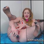 Bound Abducted Gaping Escaping Squirter And Rosebutt Loose – Gingerspyce – Huge Dildo, Gaping Anal