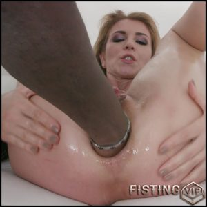 Gets Giant Black Hand In Her Sweet Anal – Sindy Rose – Ball Anal, Solo Fisting