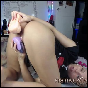 Insertion Transparent Butplug And Huge Dildos In Asshole – Siswet19 – Monster Dildo, Teen Anal
