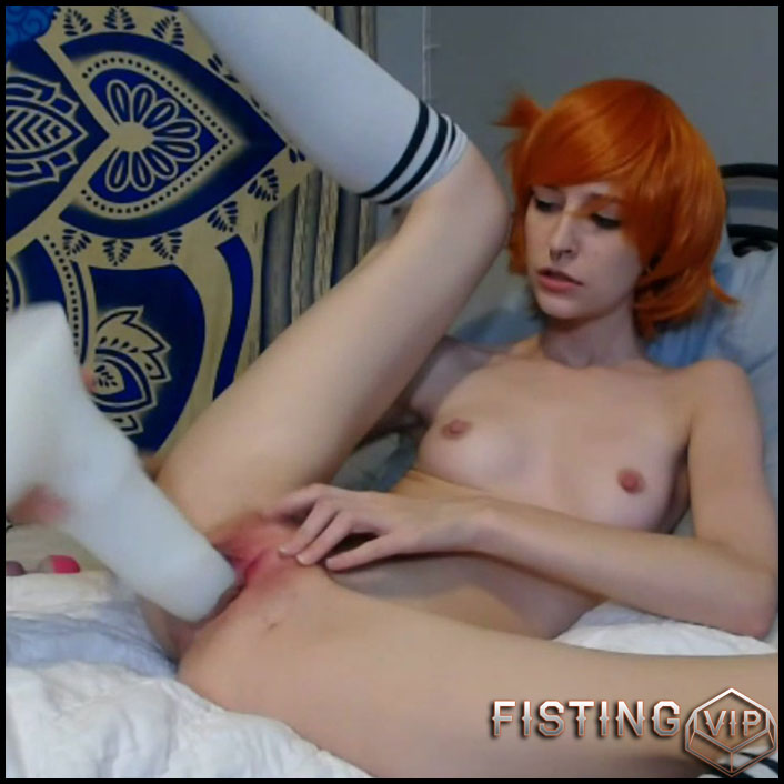 Misty Finds Rapidash Cock In Hairy Pussy - Mohawk Molly - Monster Dildo